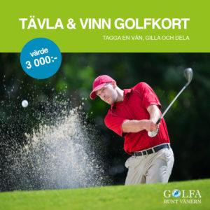 Golfa runt Vänern - midsommartävling